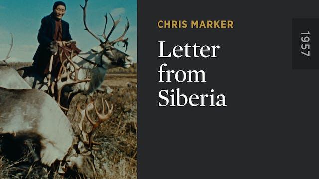 Letter from Siberia