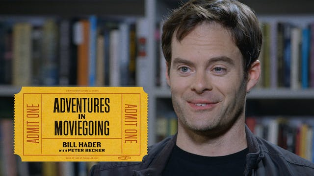 Bill Hader on THE AMERICAN FRIEND