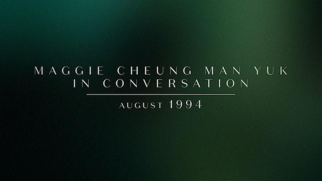 Maggie Cheung Man Yuk on DAYS OF BEING WILD