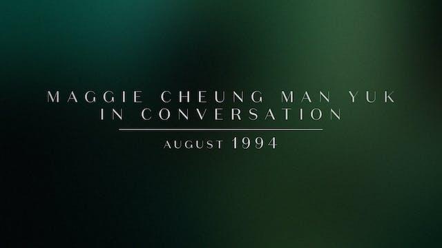 Maggie Cheung Man Yuk on DAYS OF BEIN...