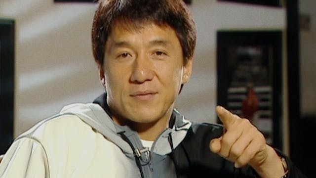 Jackie Chan on POLICE STORY