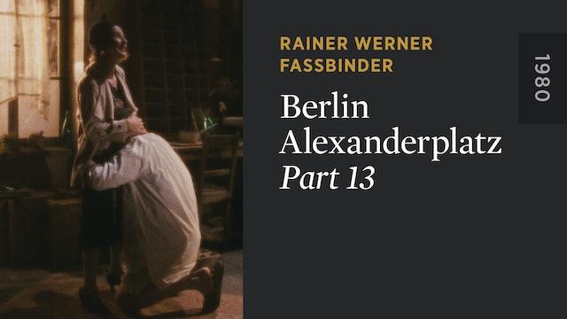 BERLIN ALEXANDERPLATZ: Part 13