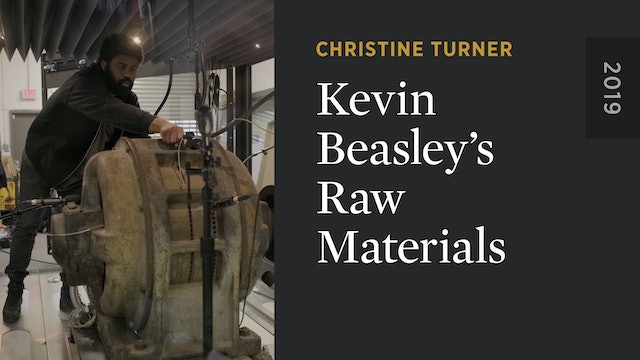 Kevin Beasley's Raw Materials