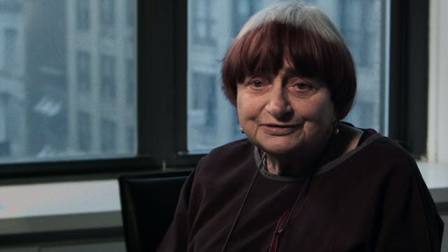 Agnès Varda Comes to California