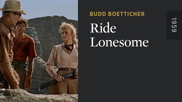 Ride Lonesome