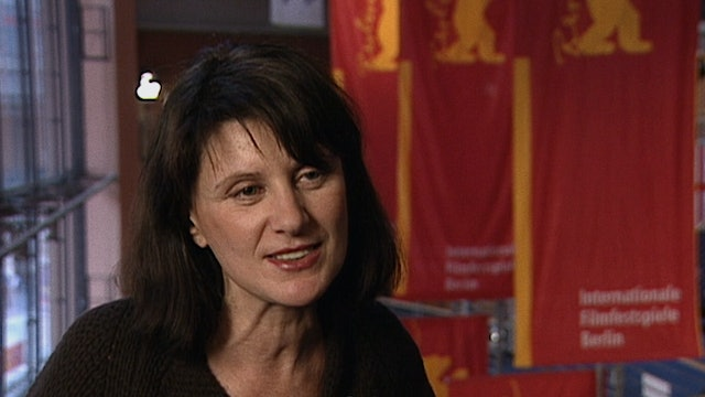 Catherine Breillat on FAT GIRL, 2001, Berlin