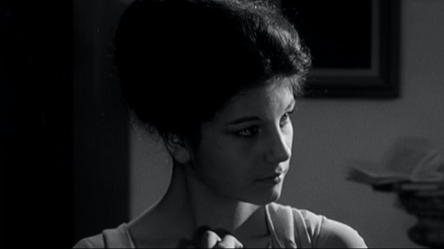 Stefania Sandrelli DIVROCE ITALIAN STYLE Screen Test