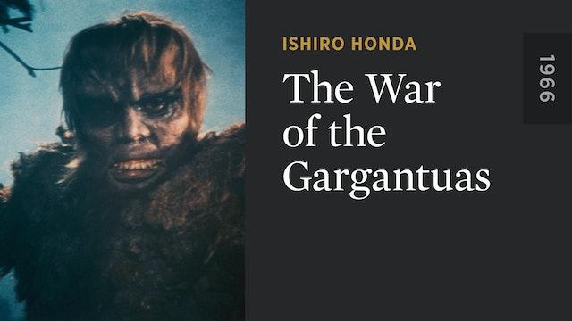 The War of the Gargantuas