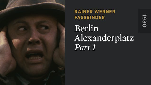 BERLIN ALEXANDERPLATZ: Part 1
