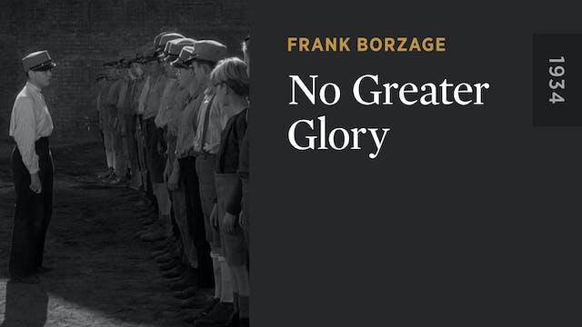 No Greater Glory