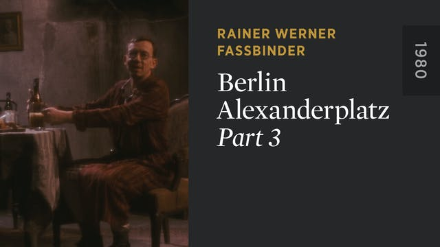 BERLIN ALEXANDERPLATZ: Part 3