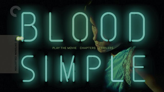 BLOOD SIMPLE Edition Intro
