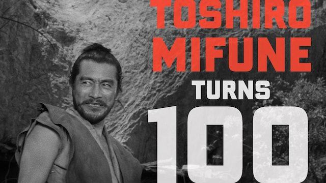 Toshiro Mifune Turns 100 Teaser