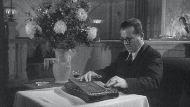 THE THIRD MAN: Anton Karas at London's Empress Club