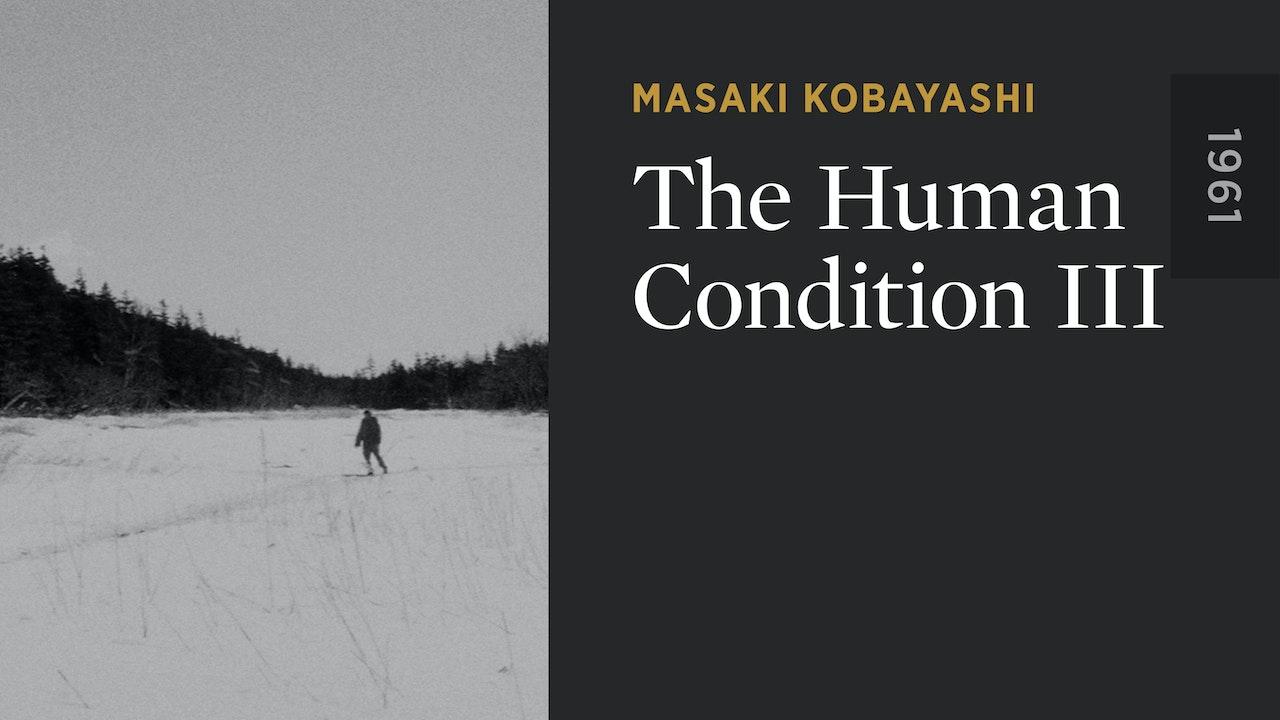 The Human Condition III