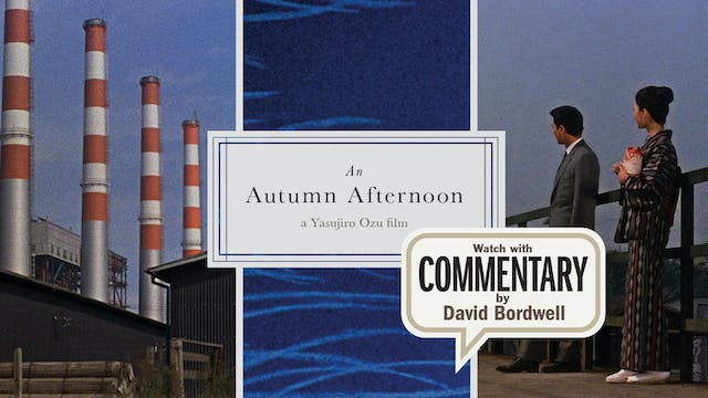 AN AUTUMN AFTERNOON Commentary