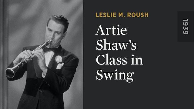 Artie Shaw's Class in Swing