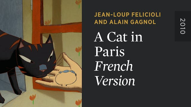 A CAT IN PARIS: French Version