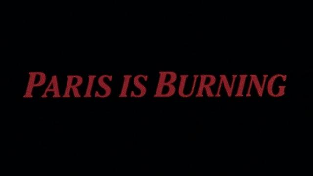 PARIS IS BURNING Trailer