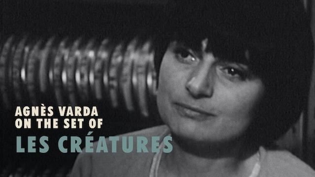 Agnès Varda on the Set of LES CRÉATURES