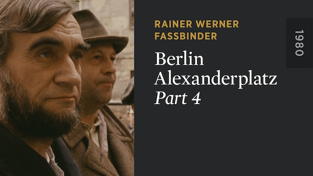 BERLIN ALEXANDERPLATZ: Part 4