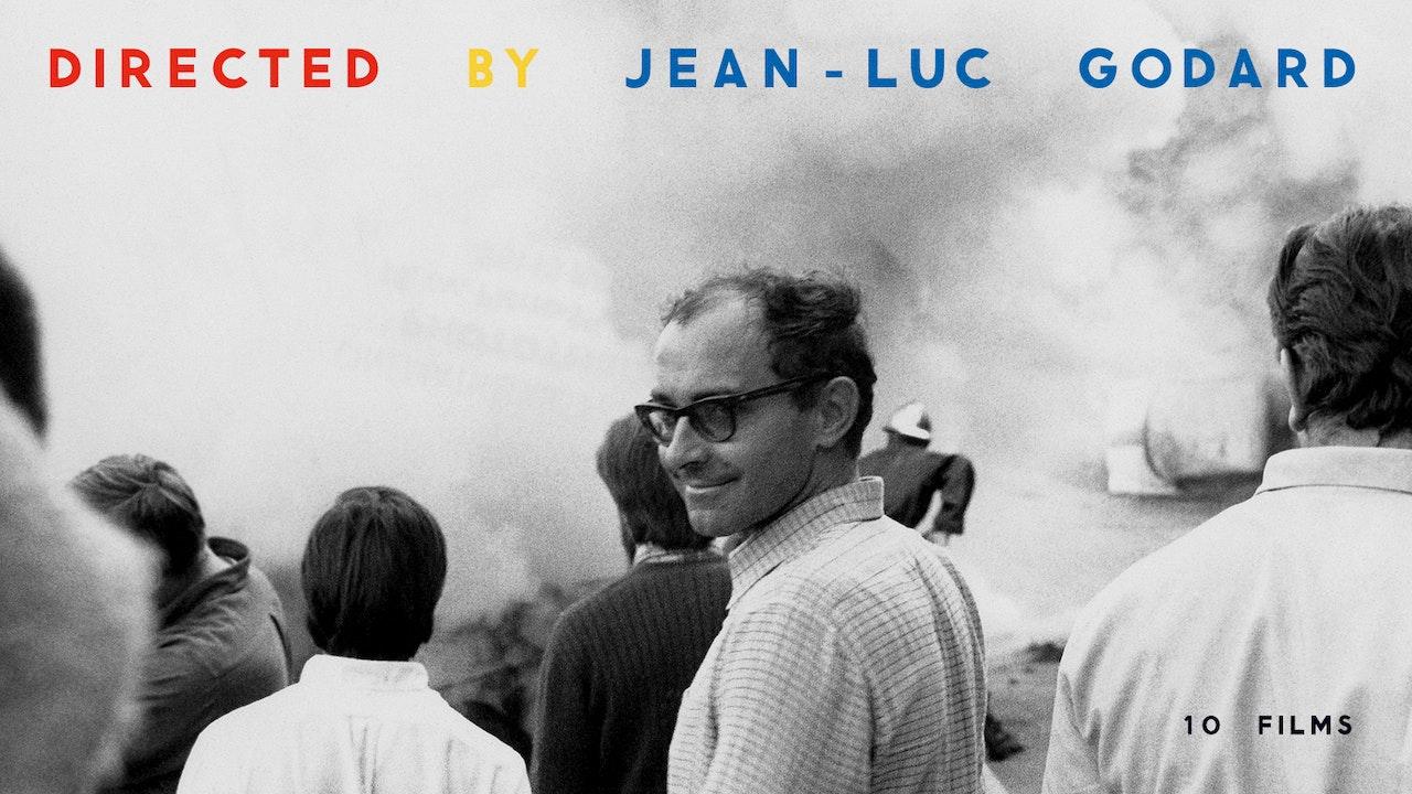 Directed by Jean-Luc Godard