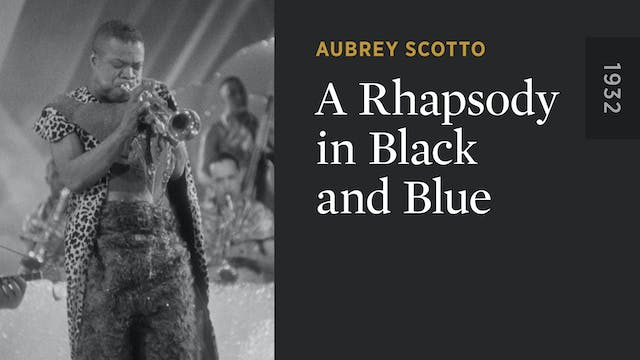A Rhapsody in Black and Blue