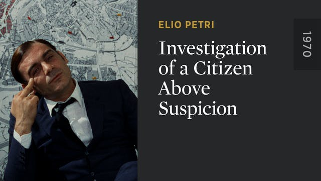 Investigation of a Citizen Above Susp...