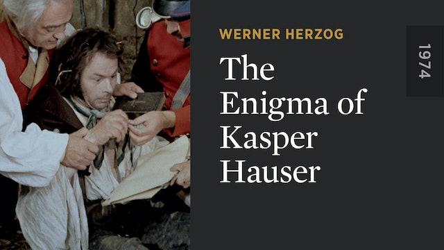 The Enigma of Kasper Hauser