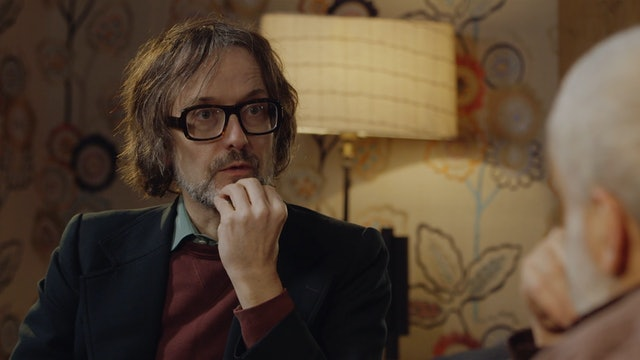 Mike Leigh with Jarvis Cocker on MEANTIME