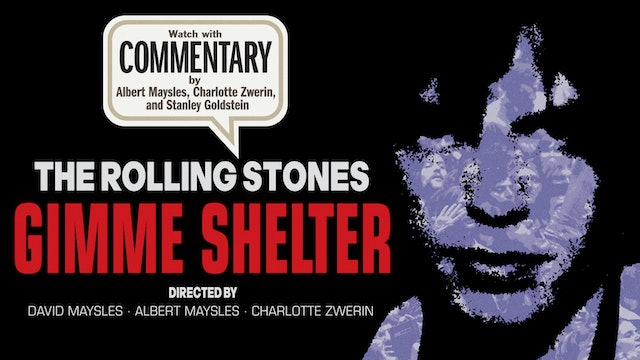 GIMME SHELTER Commentary