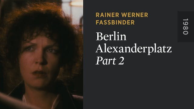 BERLIN ALEXANDERPLATZ: Part 2