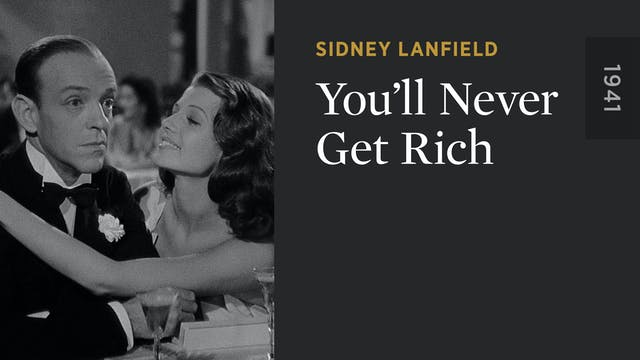You'll Never Get Rich