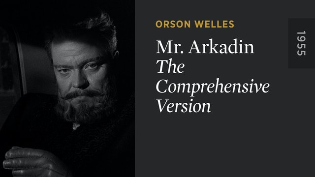 MR. ARKADIN: The Comprehensive Version