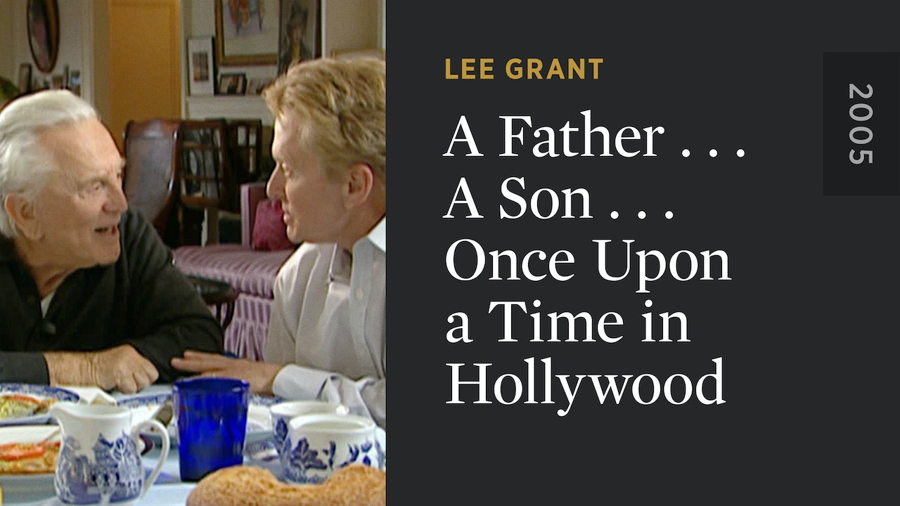 A Father . . . A Son . . . Once Upon a Time in Hollywood