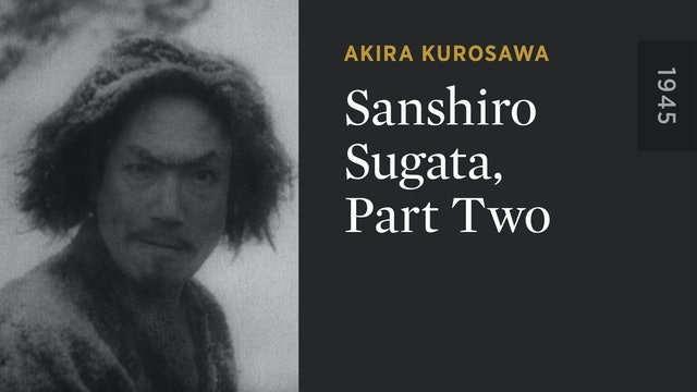 Sanshiro Sugata, Part Two