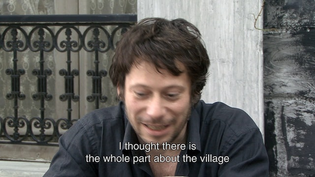 Agnès Varda and Mathieu Amalric on LA POINTE COURTE