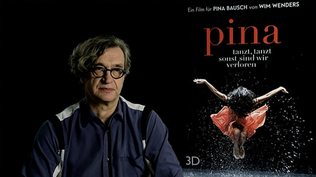 Wim Wenders on PINA