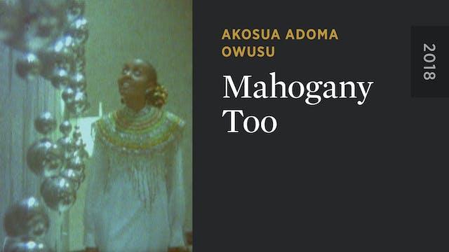 Mahogany Too