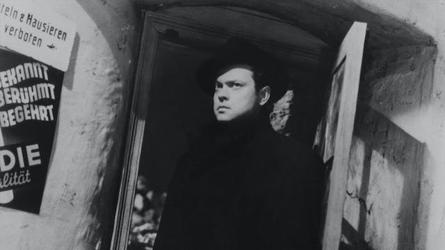 """THE THIRD MAN on the Radio: """"A Ticket..."""