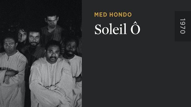 Martin Scorsese on SOLEIL Ô