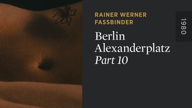BERLIN ALEXANDERPLATZ: Part 10