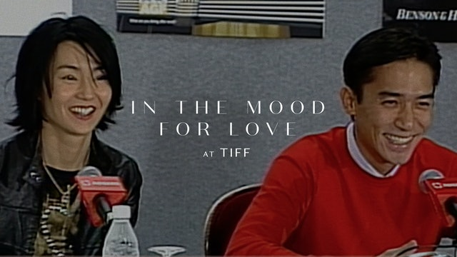 IN THE MOOD FOR LOVE Toronto International Film Festival Press Conference