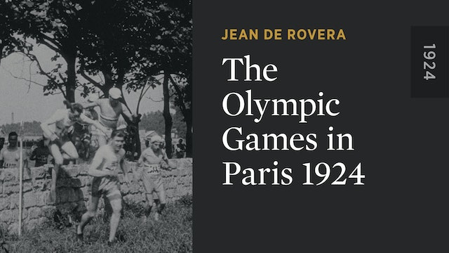 The Olympic Games in Paris 1924