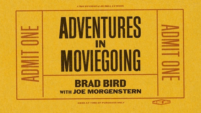 Brad Bird in Conversation