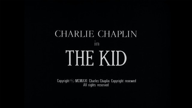 Outtakes From the 1921 Version of THE KID