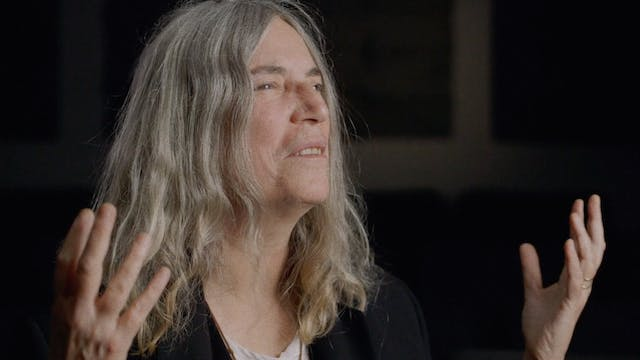 Patti Smith on Bob Dylan and DONT LOO...