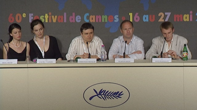 Cannes Press Conference for 4 MONTHS, 3 WEEKS AND 2 DAYS