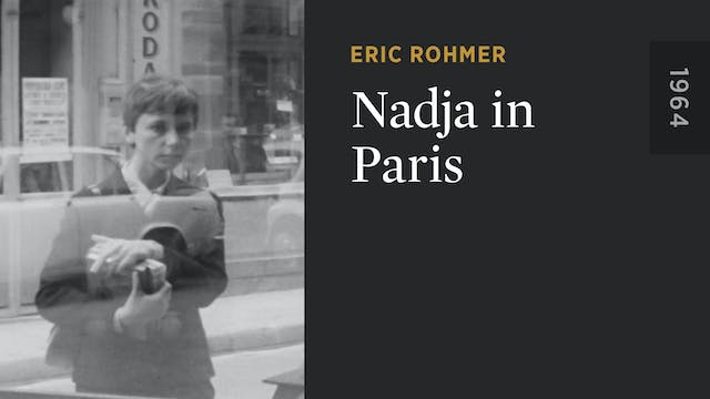 Nadja in Paris