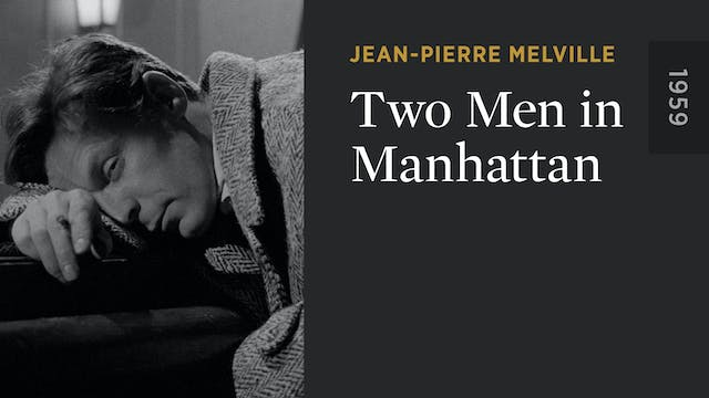 Two Men In Manhattan